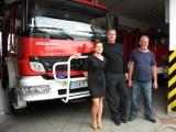 Dominika przewodzi strażakom. Poznajcie historię prezes OSP w Łęgowie