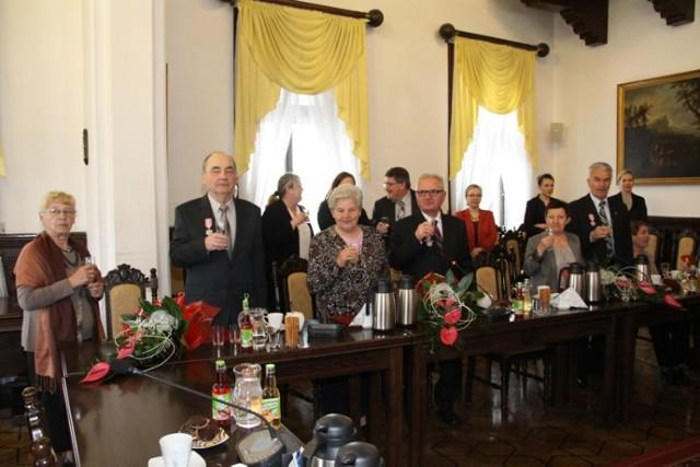 Uroczystość nadania Medali za Długoletnie Pożycie Małżeńskie