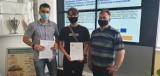 Stypendia dla 81 uczniów z powiatu sieradzkiego wręczone - ZDJĘCIA