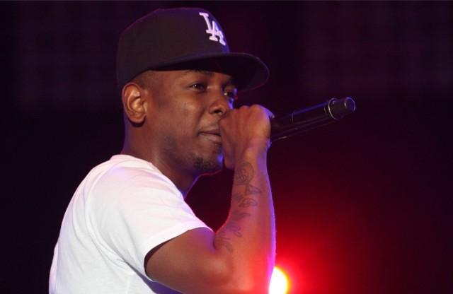 Koncert Kendricka Lamara na festiwalu Open'er 2013 w Gdyni Kosakowie [03.07.2013]