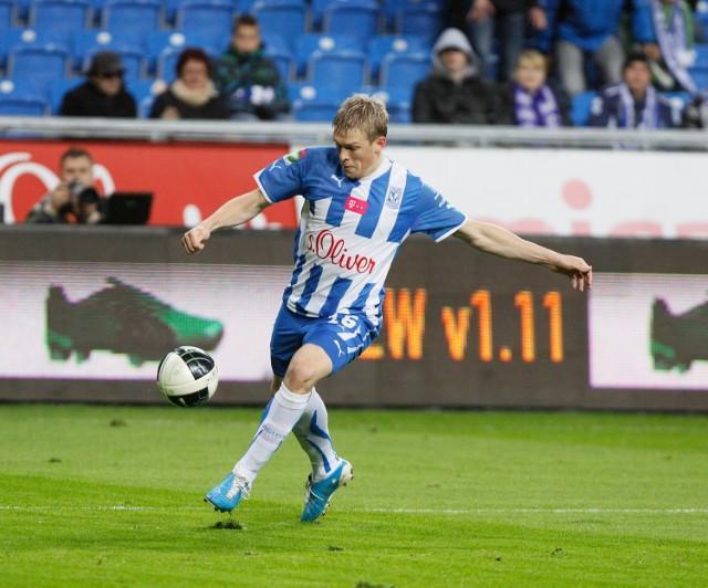 Artiom Rudniew strzelił w Bytomiu dwa gole i znowu był motorem napędowym Kolejorza
