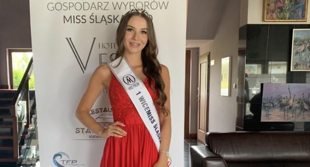 Sandra Paszek zdobyła tytuł I vice Miss Śląska 2020.