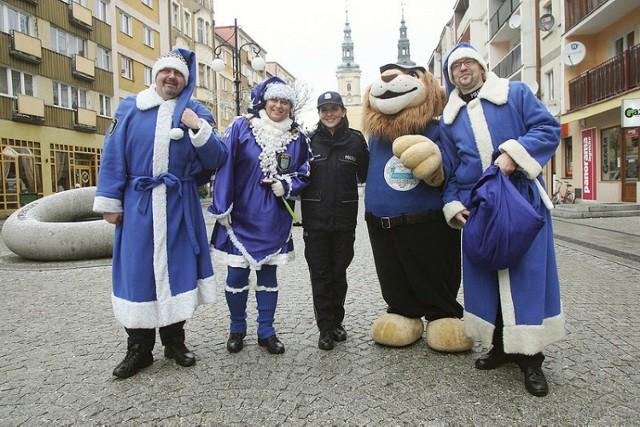 Niebieski patrol w Legnicy