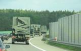 Uwaga kierowcy! Wojskowe kolumny na drogach w województwach lubuskim i dolnośląskim. Możliwe utrudnienia