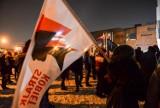 Kolejny dzień protestów w centrum Gdańska 01.02.2021 r. 103 sekundy milczenia na 103 dni od orzeczenia wyroku w sprawie aborcji