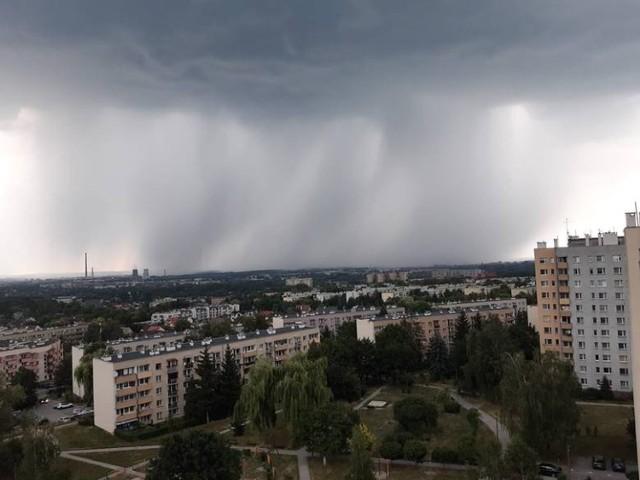 Burze nad Małopolską, środa 30 czerwca