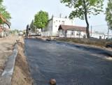 Malbork. Trwa przebudowa ulicy Chrobrego. Zobacz, jak obecnie przebiegają prace