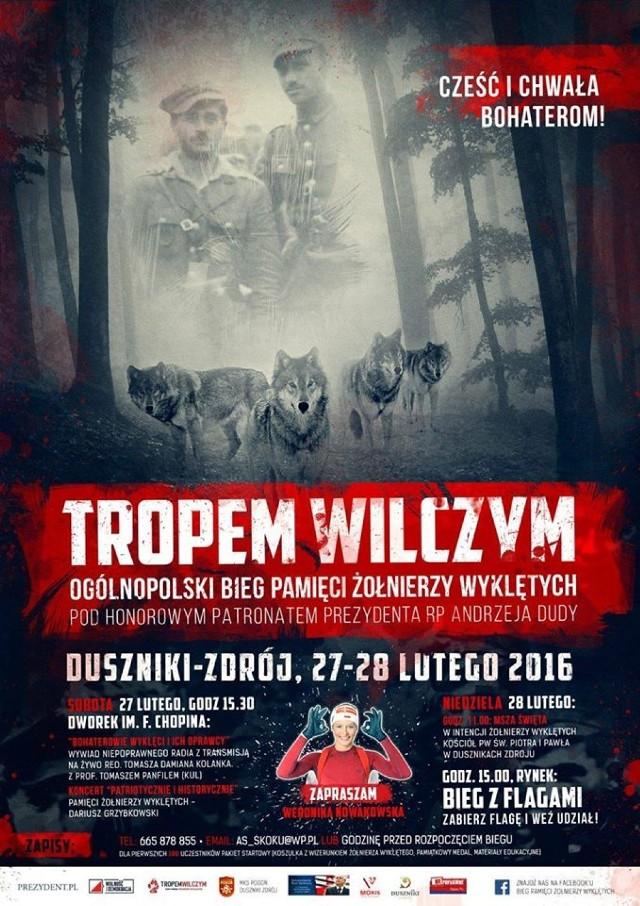 Bieg Tropem Wilczym 2016 Duszniki-Zdrój