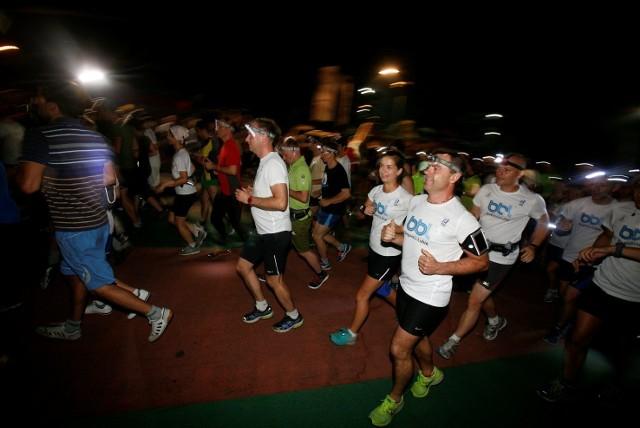 Bieg dla Artura Hajzera w Parku Śląskim odbył się w środę w nocy.