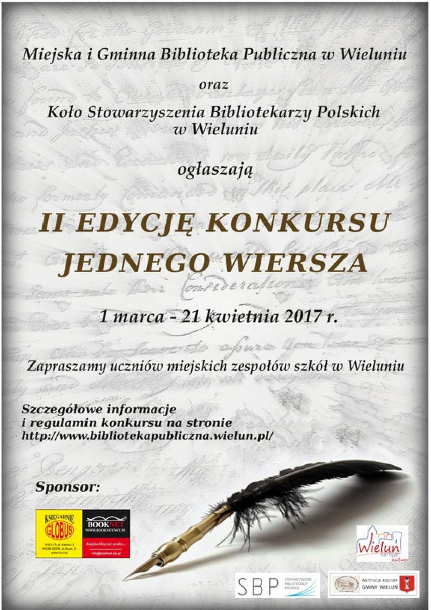 Wieluń Ii Edycja Konkursu Jednego Wiersza Wieluń Nasze Miasto
