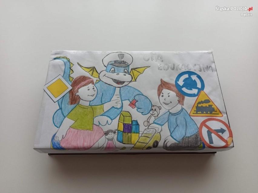 Maskotka będzińskiej policji Smoczyca Klara bohaterką gry planszowej. Finał konkursu za nami