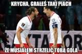 Memy po meczu Polska - Albania. Lewy strzela gola Krychowiakiem. Albo: Lewy Buksa mamy fuksa 5.09