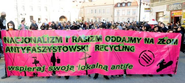Tydzień Walki z Rasizmem: Demonstracja w Lublinie