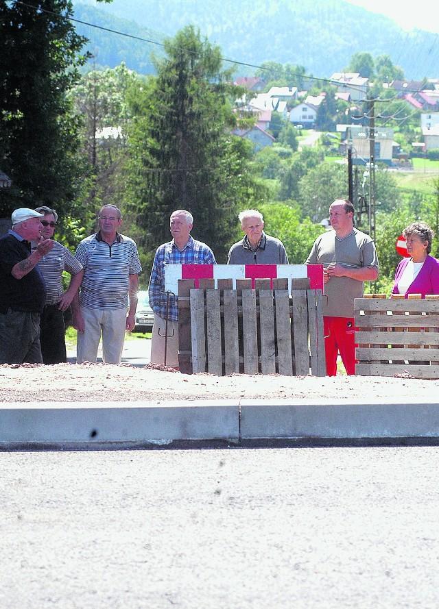 Mieszkańcy Lipnika chcą, by ul. Krzyżowa była otwarta