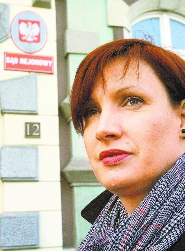 Katarzyna Wojtkowska nie ma sobie nic do zarzucenia