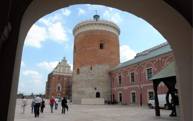 Z tarasu na tej wieży, już wkrótce, obejrzymy jedną z najpiękniejszych panoram Lublina