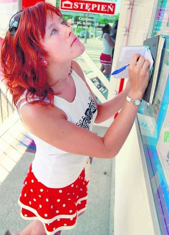 Iwona Kostrzewska szuka mieszkania do wynajęcia