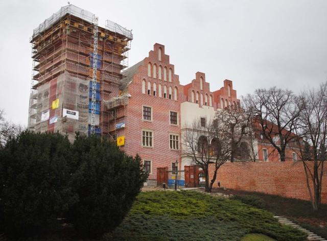 Zamek Królewski na Wzgórzu Przemysła jest już prawie gotowy