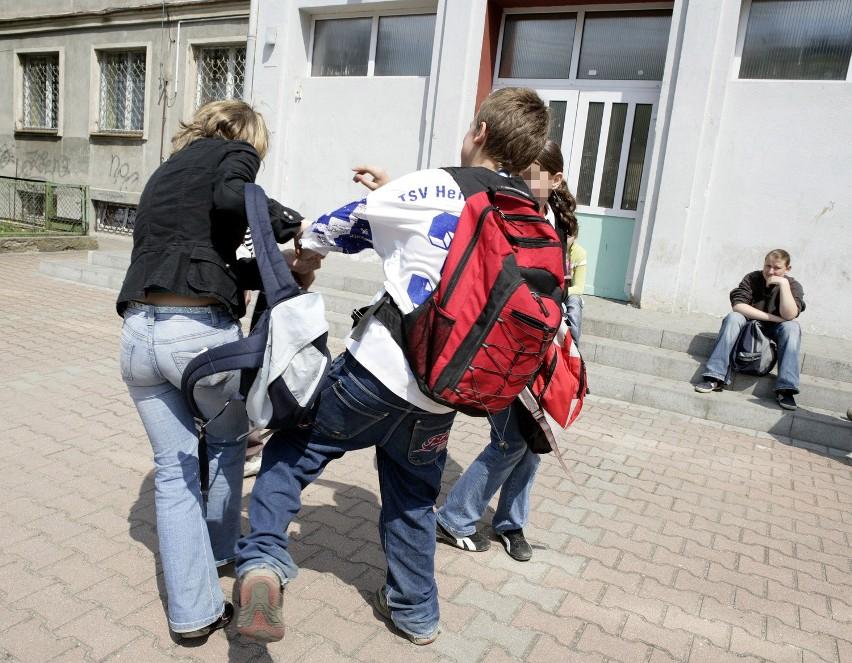 35 proc. wszystkich przestępstw w szkole to rozboje