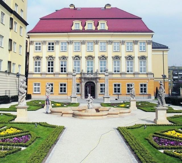 W pałacu Spaetgena mieści się dziś m.in. Muzeum Miejskie