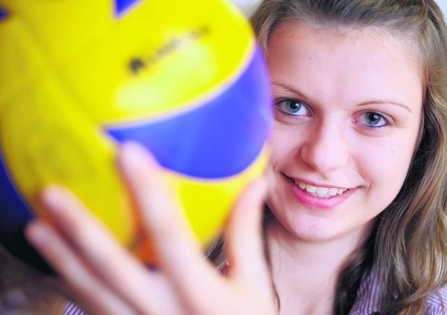 Dominika Sobolska (na zdjęciu) zagra w Gwardii z siostrą