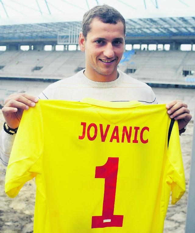 Bramkarz Milan Jovanić został w poniedziałek oficjalnie zaprezentowany przez Wisłę Kraków