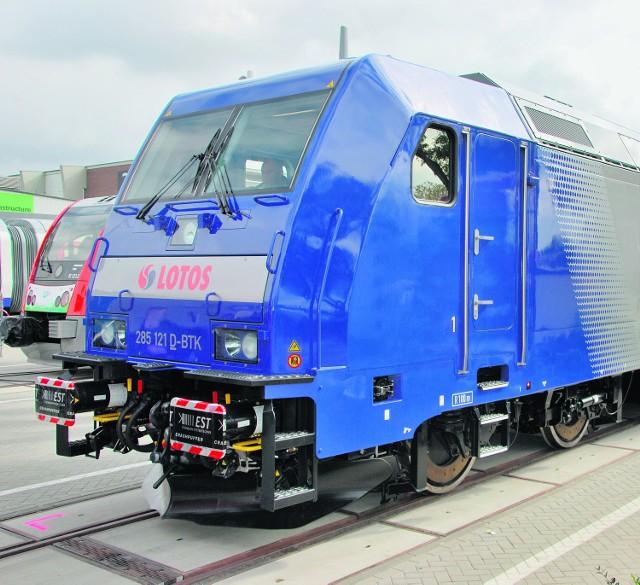 Tak prezentuje się nowa lokomotywa Lotosu