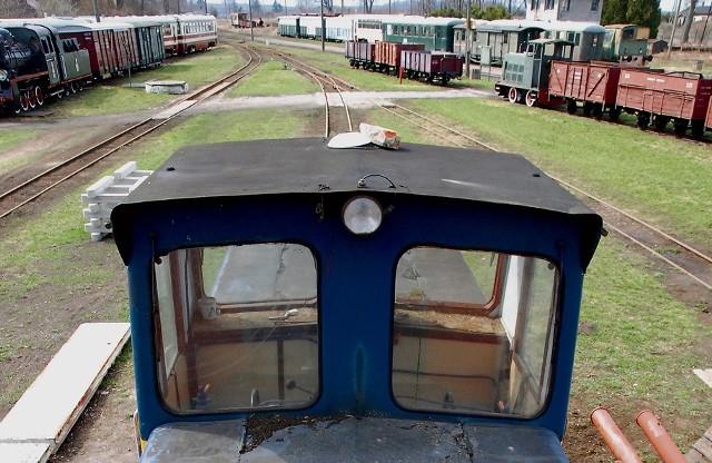 Złodzieje zniszczyli torowisko kolei wąskotorowej w Rogowie