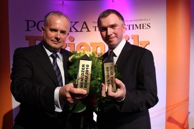 Zwycięzcy z 2010 roku: Marek Maruszak i Paweł Kaźmierczak.