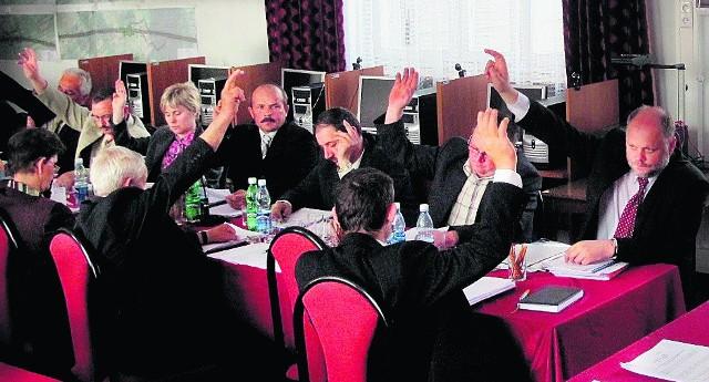 Radni poparli wniosek o udzielenie absolutorium jednogłośnie
