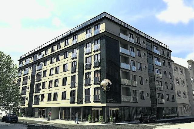 Rezydencja znajduje się w Krakowie, na rogu ulicy Krótkiej i Krzywej