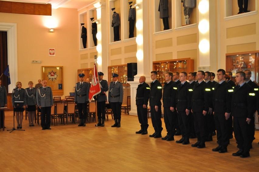 Nowi funkcjonariusze w lubelskiej policji