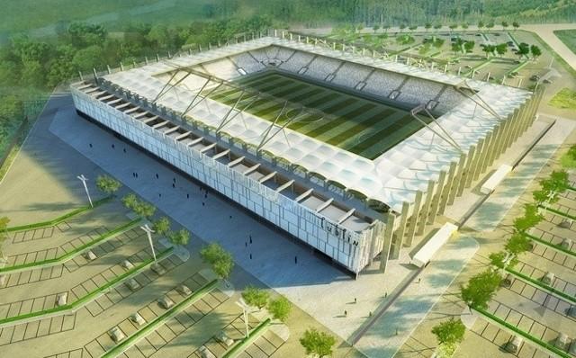 Wizualizacja stadionu przy Krochmalnej