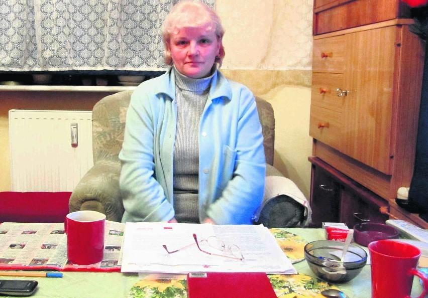 Pani Bogumiła Pek nie rezygnuje z walki o mieszkanie