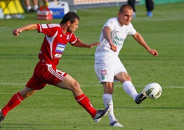 Wojciech Trochim zdobył w Olsztynie drugiego gola i przypieczętował zwycięstwo Warty.