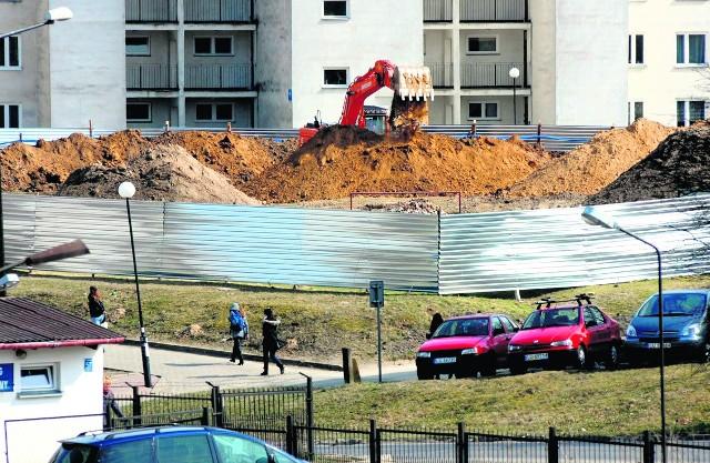 Prace przy budowie komisariatu właśnie ruszyły. Budynek ma być gotowy jesienią 2013 r.
