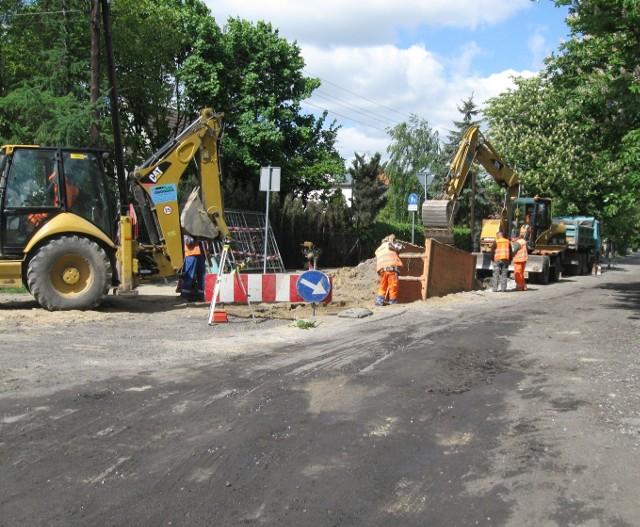 Trwa budowa ulic na Szczepankowie