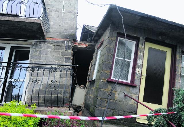 Antonina Skrut z Lanckorony: Cały dom jest przechylony,  ściany pękają