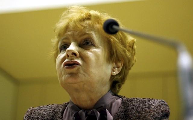 Gilowska: Gdy zajęłam się dopłatami, odezwali się lobbyści