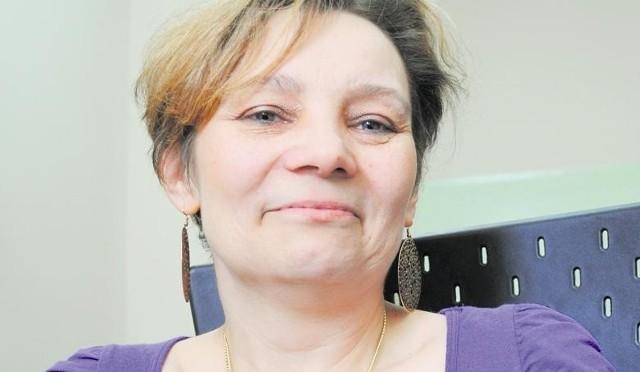 Katarzyna Chojnacka, pielęgniarka z oddziału onkologii Wojewódzkiego Szpitala Wojewódzkiego w Koninie