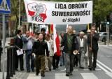 Liga Obrony Suwerenności manifestowała w Katowicach [ZDJĘCIA]
