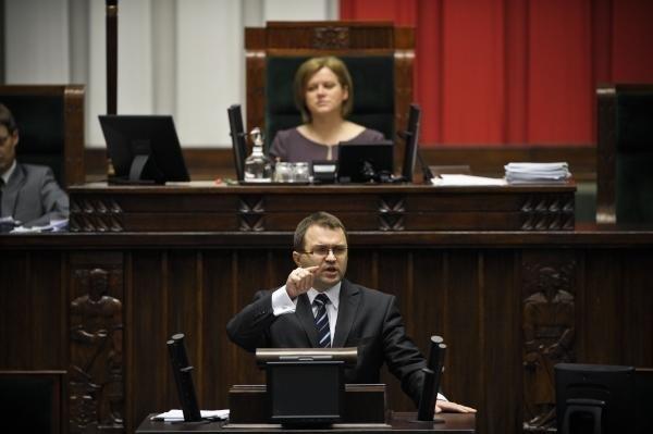 Premier może mnie pozwać - odgraża się poseł Girzyński