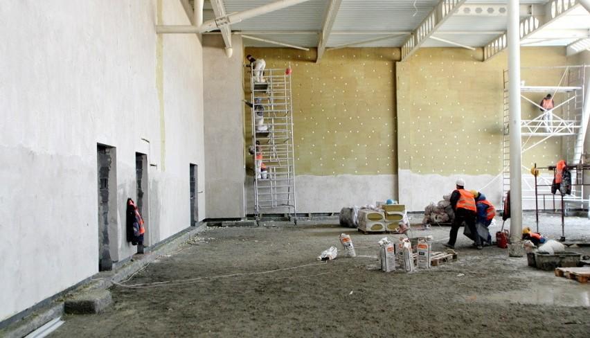 Trwają pracę przy budowie lotniska w Świdnik
