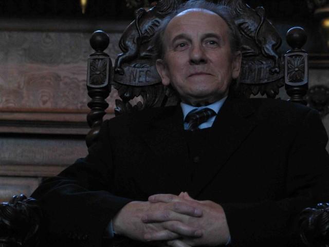 Stanisław Michalski - aktor podziwiany, z ogromnym dorobkiem scenicznym