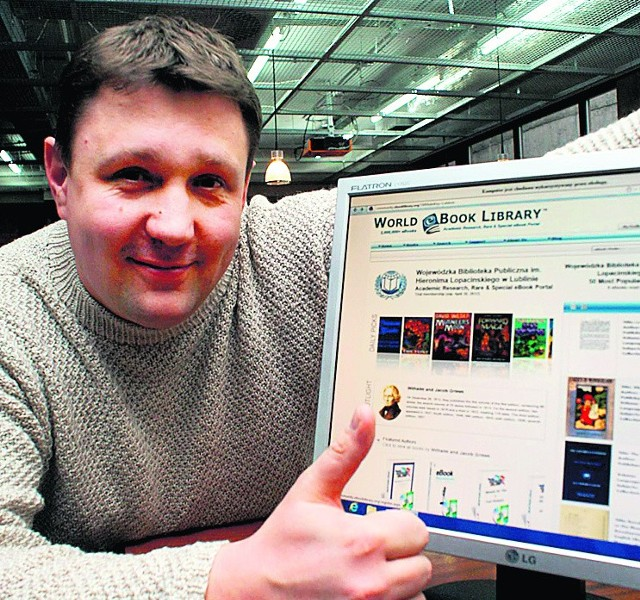 Grzegorz Winnicki poleca korzystanie z World eBook Library