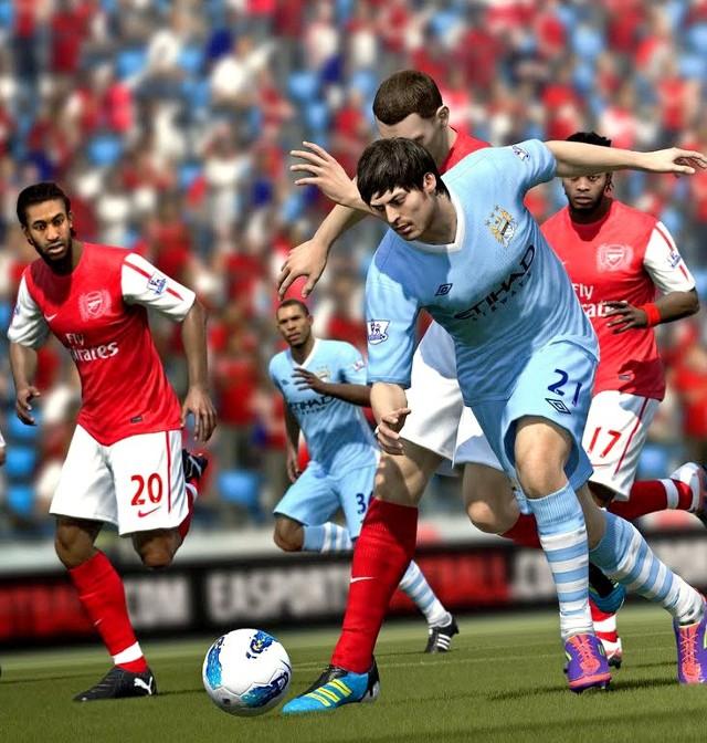 Hity bez przemocy, czyli w co graćFIFA 12 - wirtualne mistrzostwa  w  piłce nożnej.  Frustruje mniej niż kibicowanie w realu