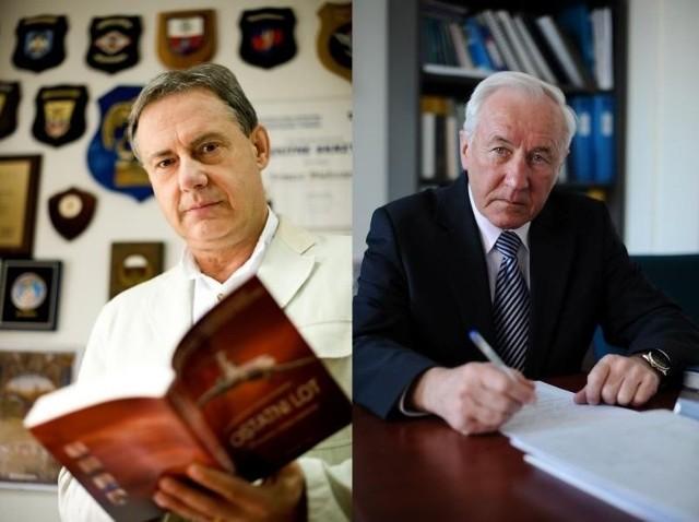 """Ewa Błasik wśród """"pseudoekspertów"""" wymienia nazwiska m.in. Edmunda Klicha (z prawej) i Tomasza Białoszewskiego (z lewej)"""
