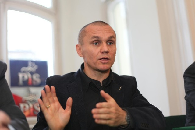 Generał Roman Polko w Łodzi.