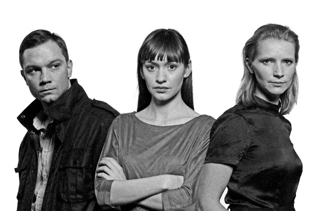 Jacek Malarski, Joanna Osyda i Ewa Łukasiewicz w sztuce Jean-Paul Sartre.