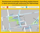 Komunikacyjna rewolucja w centrum Łodzi [MAPA]